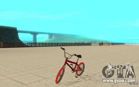 Zeros BMX RED tires for GTA San Andreas