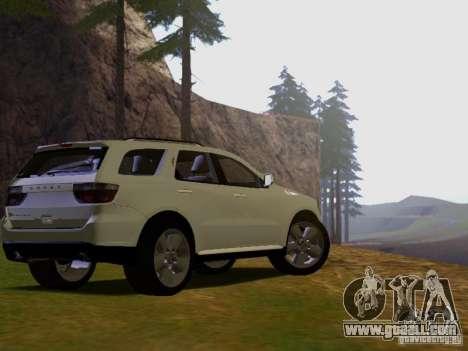 Dodge Durango 2012 for GTA San Andreas