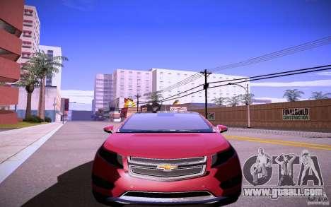 Chevrolet Volt for GTA San Andreas left view