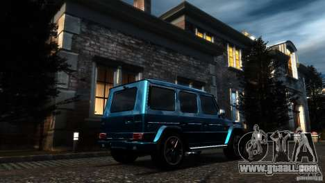 Mercedes-Benz G65 AMG [W463] 2012 for GTA 4 inner view
