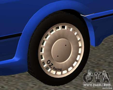Z-s wheel pack for GTA San Andreas fifth screenshot