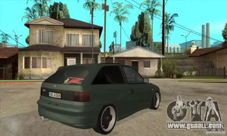 Opel Astra GSI 1993 Custom for GTA San Andreas right view