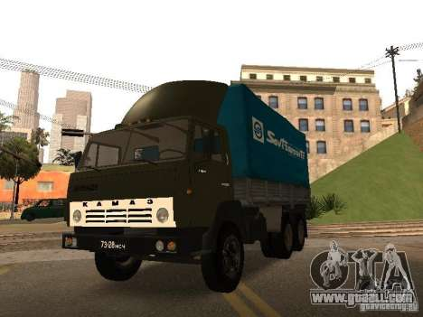 KAMAZ 5320 for GTA San Andreas side view