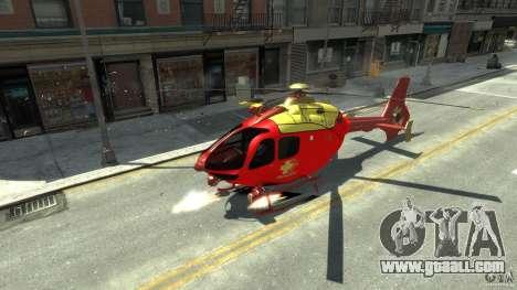 Medicopter 117 for GTA 4 left view