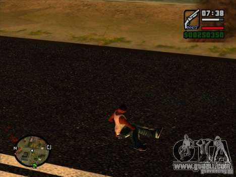 Garbage from the explosion for GTA San Andreas third screenshot