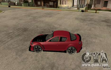 Mazda RX-8 Time Attack JDM for GTA San Andreas left view