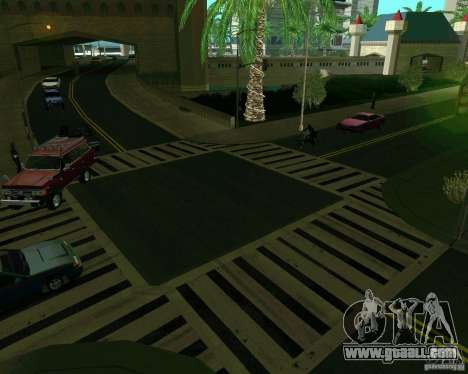 GTA 4 Road Las Venturas for GTA San Andreas sixth screenshot