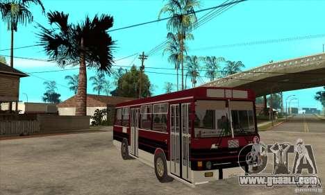 LAZ-4202 for GTA San Andreas back view