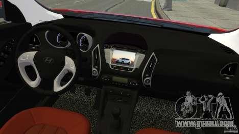 Hyundai Santa Fe Sport 2013 for GTA 4 back view