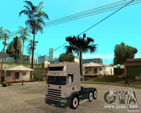 Scania 164L 580 for GTA San Andreas