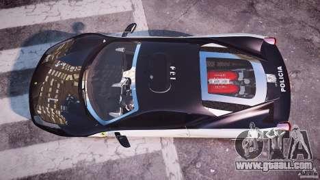 Ferrari 458 Italia - Brazilian Police [ELS] for GTA 4 right view
