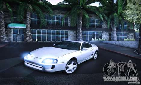 Toyota Supra Tuneable for GTA San Andreas