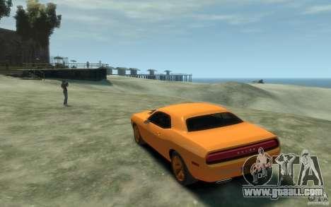 Dodge Challenger Concept for GTA 4 back left view