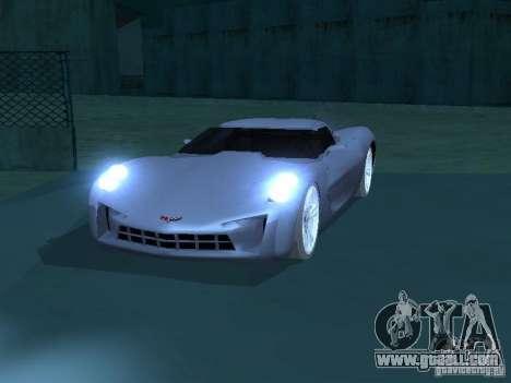 Chevrolet Corvette Stingray for GTA San Andreas