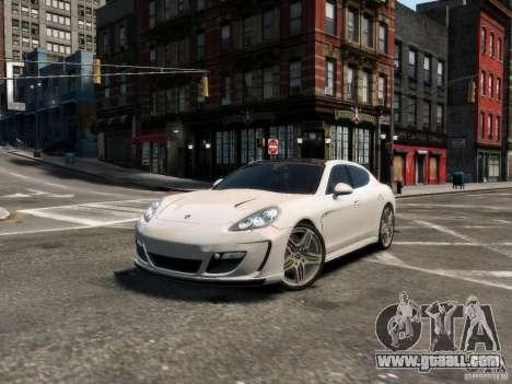 Gemballa Mistrale Concept 2011 for GTA 4