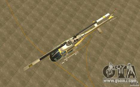 Bell 206 B Police texture4 for GTA San Andreas inner view
