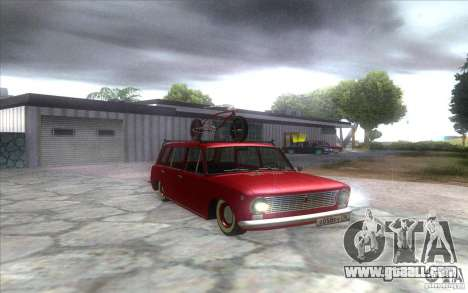 VAZ 2102 retro for GTA San Andreas right view