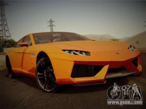 Lamborghini Estoque Concept 2008 for GTA San Andreas