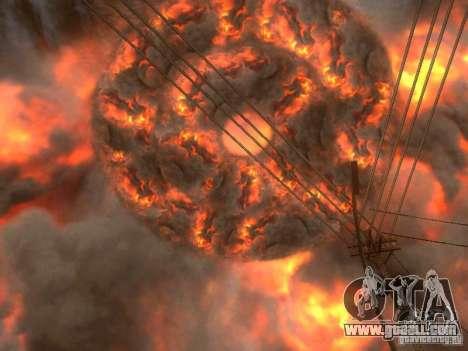 Atomic Bomb for GTA San Andreas