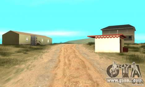 Area in the desert for GTA San Andreas