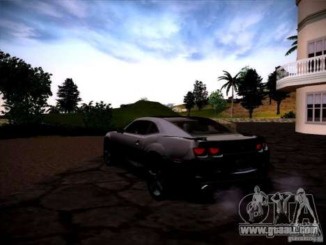 Chevrolet Camaro SS for GTA San Andreas side view