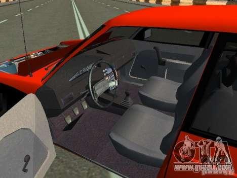 Azlk-2141 45 Svyatogor for GTA San Andreas back view