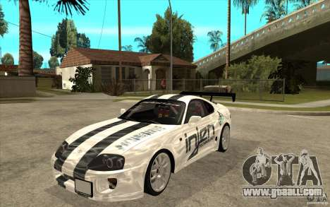 Toyota Supra MK-4 for GTA San Andreas