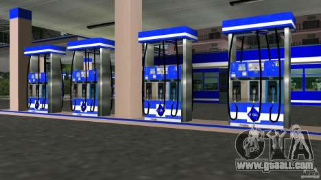 Aral Tankstelle Mod for GTA Vice City third screenshot