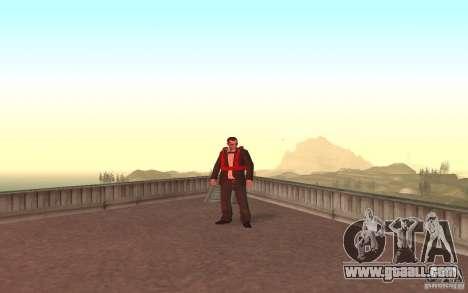 Global fashion parachute for GTA San Andreas