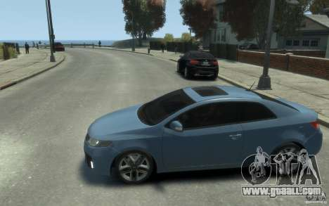 Kia Forte Koup SX for GTA 4 left view
