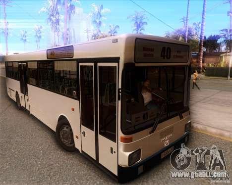 MAN SL202 for GTA San Andreas