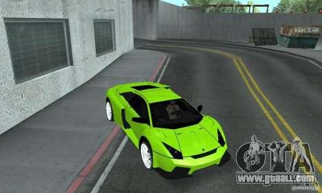 Lamborghini Murcielago Tuned for GTA San Andreas side view