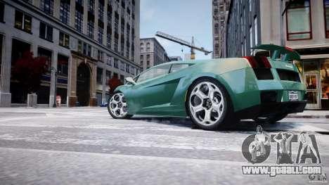 Lamborghini Gallardo for GTA 4 interior