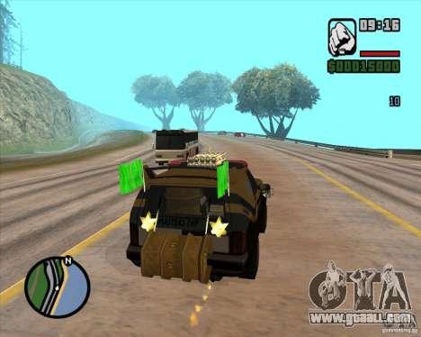 Death Car-death machine for GTA San Andreas fifth screenshot