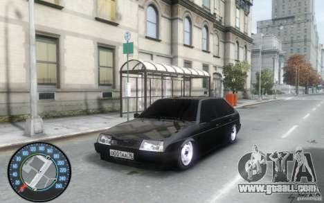 VAZ 2109 Dagestan tuning for GTA 4