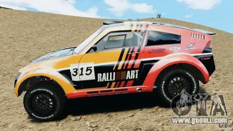 Mitsubishi Pajero Evolution MPR11 for GTA 4 left view