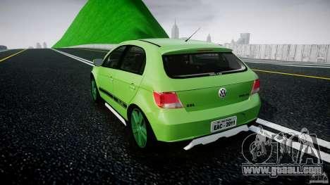 Volkswagen Gol Rallye 2012 v2.0 for GTA 4 back left view