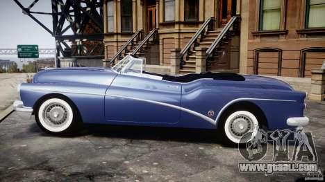 Buick Skylark Convertible 1953 v1.0 for GTA 4 back left view