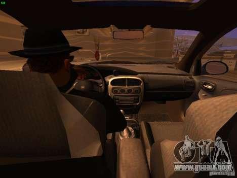 Dodge Neon SRT4 2006 for GTA San Andreas inner view