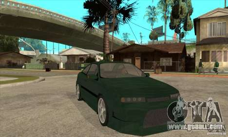 Opel Calibra for GTA San Andreas back view