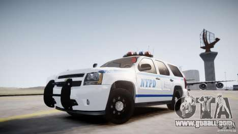 Chevrolet Tahoe 2012 NYPD for GTA 4