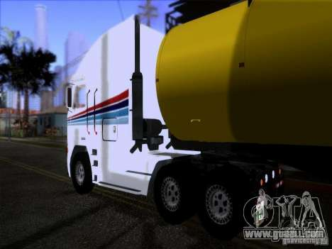 Freightliner Argosy Skin 3 for GTA San Andreas right view