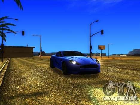 Aston Martin Virage 2011 Final for GTA San Andreas