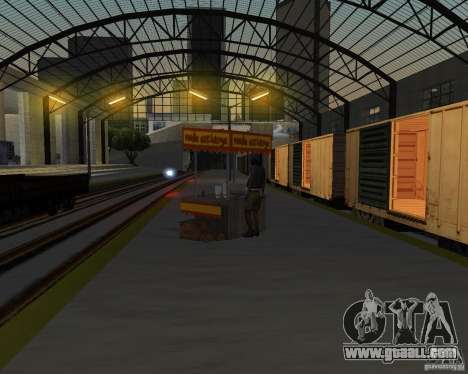 New railway station for GTA San Andreas eighth screenshot