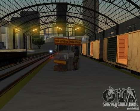 New railway station for GTA San Andreas eighth screenshot