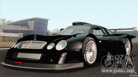 Mercedes-Benz CLK GTR Race Car for GTA San Andreas back view