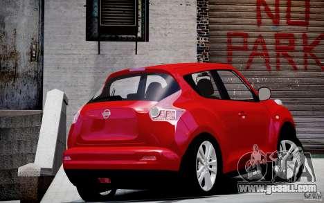 Nissan Juke for GTA 4 left view