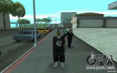 New skins Los Santos Vagos for GTA San Andreas