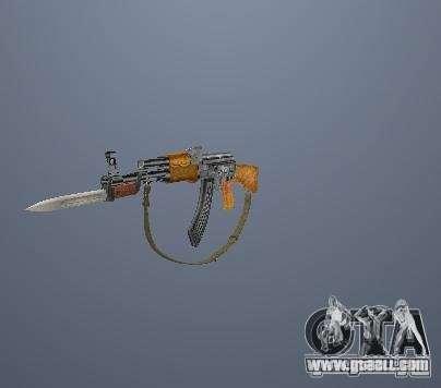 Pak high polygonal weapons for GTA San Andreas
