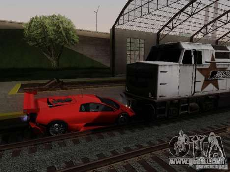 Crazy Trains MOD for GTA San Andreas third screenshot